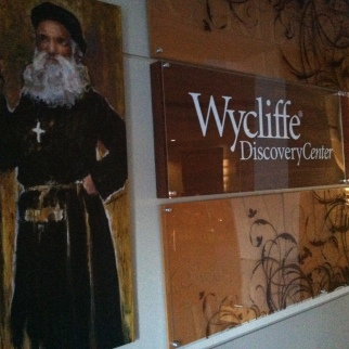 Disc Center Wycliffe Mural